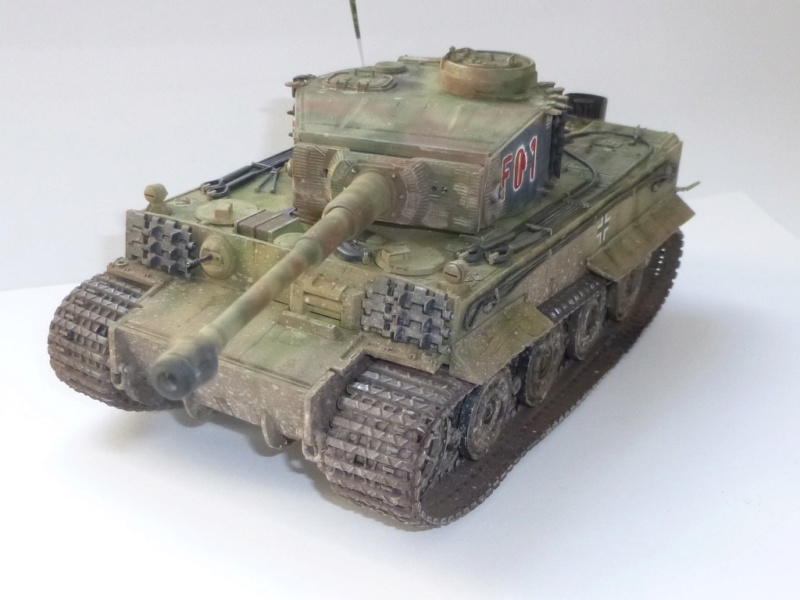 Tigre 1 Academy 1/35 Groupe Fehrman Allemagne 1945 P1050125