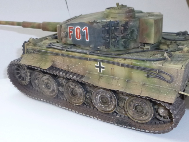 Tigre 1 Academy 1/35 Groupe Fehrman Allemagne 1945 P1050126