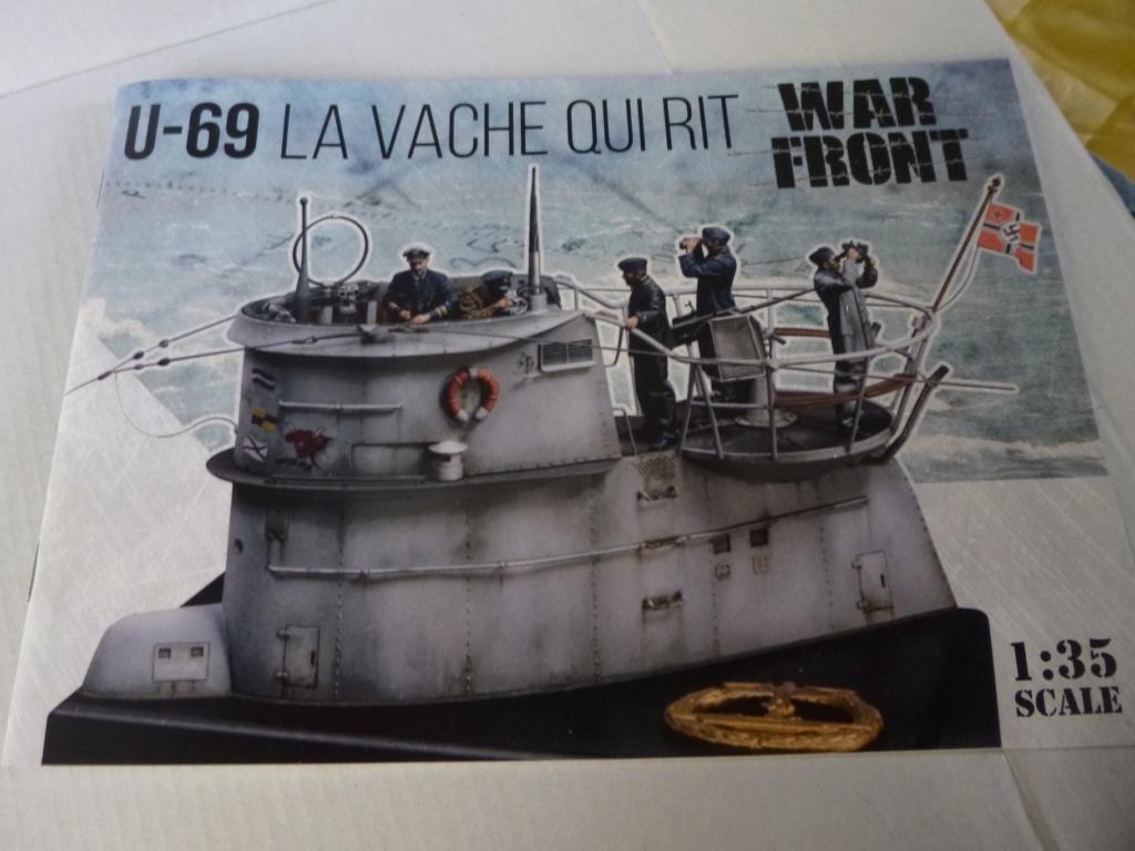 """U-Boot allemand U-69 et son équipage - Scale 75 série """"War front"""" - 1/35 - Résine P1050273"""