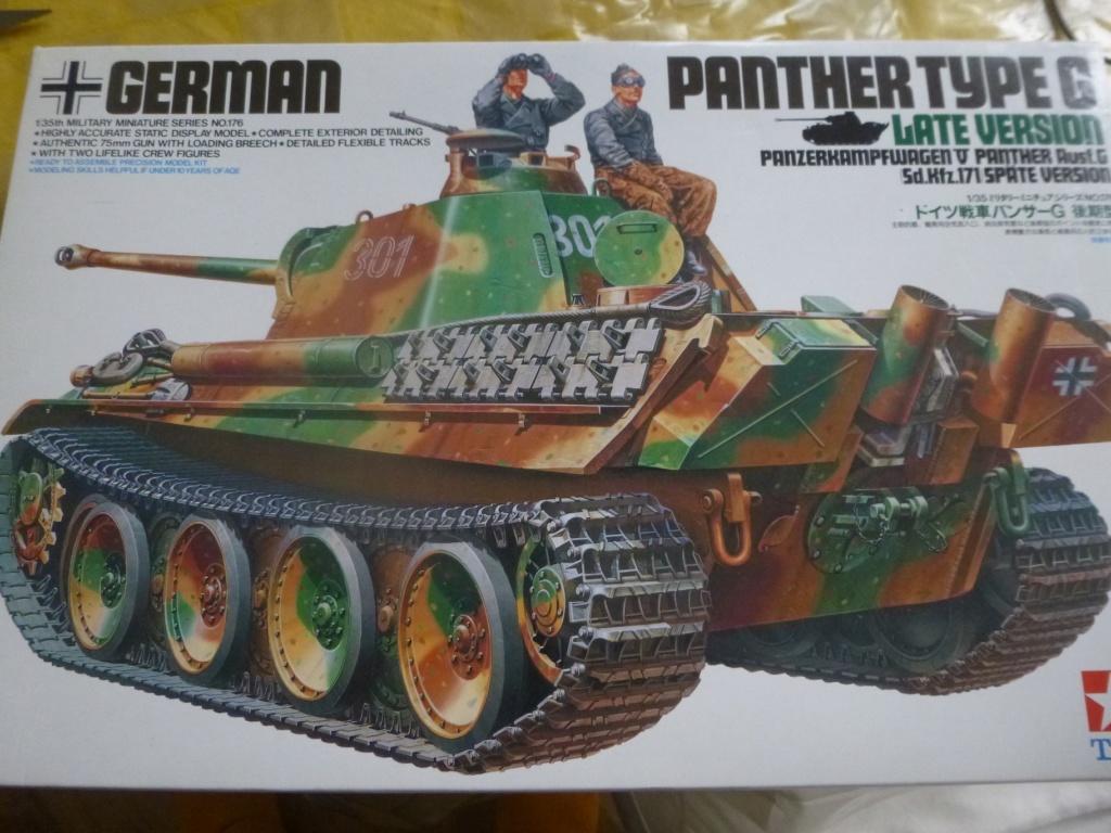 Eté 1944 un Panther  en Normandie -Tamiya- Verlinden- 1/35 P1050441