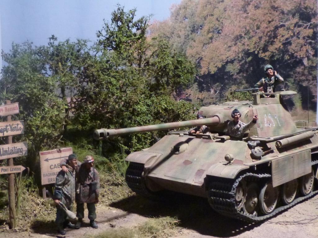 Eté 1944 un Panther  en Normandie -Tamiya- Verlinden- 1/35 - Page 2 P1050455
