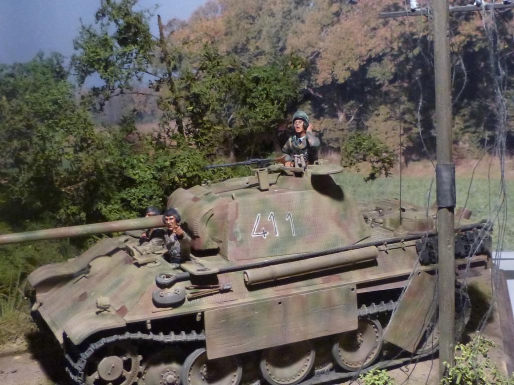 Eté 1944 un Panther  en Normandie -Tamiya- Verlinden- 1/35 - Page 2 P1050458