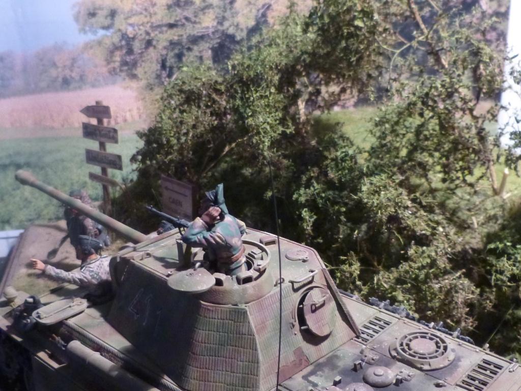 Eté 1944 un Panther  en Normandie -Tamiya- Verlinden- 1/35 - Page 2 P1050463