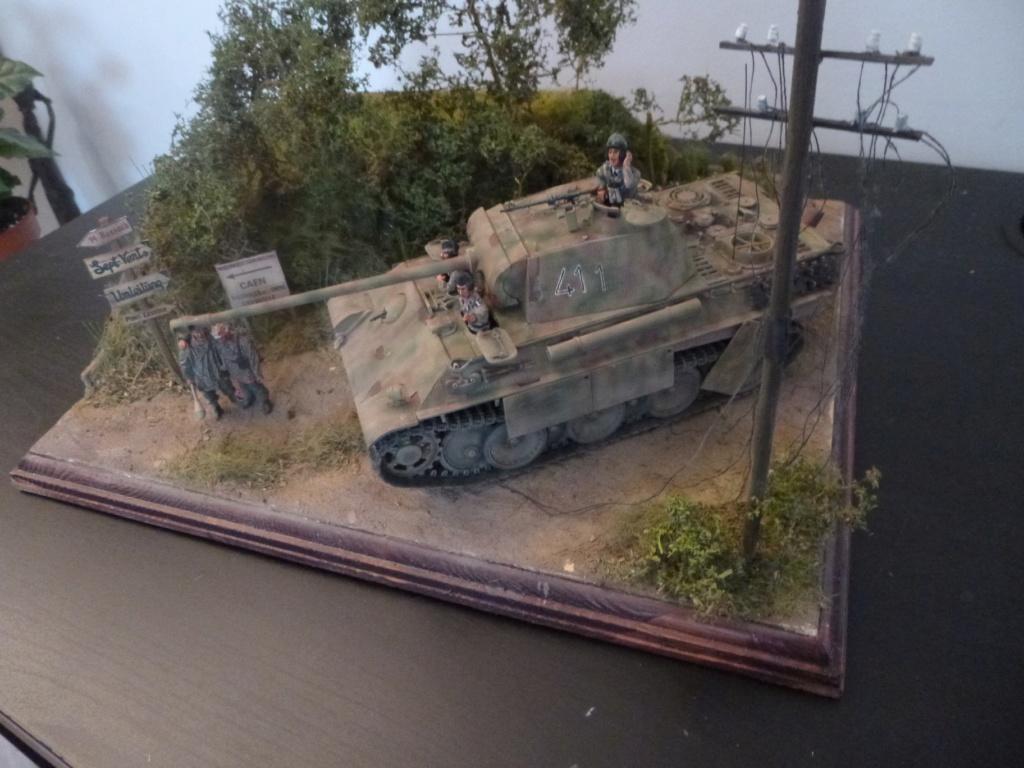 Eté 1944 un Panther  en Normandie -Tamiya- Verlinden- 1/35 - Page 2 P1050466