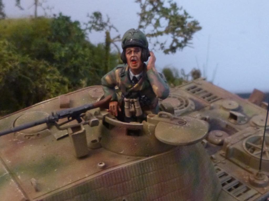 Eté 1944 un Panther  en Normandie -Tamiya- Verlinden- 1/35 - Page 2 P1050468