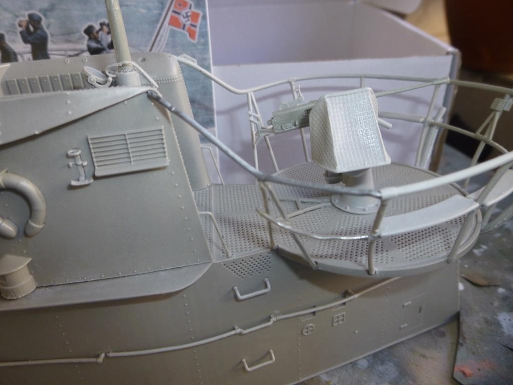"""U-Boot allemand U-69 et son équipage - Scale 75 série """"War front"""" - 1/35 - Résine P1050473"""