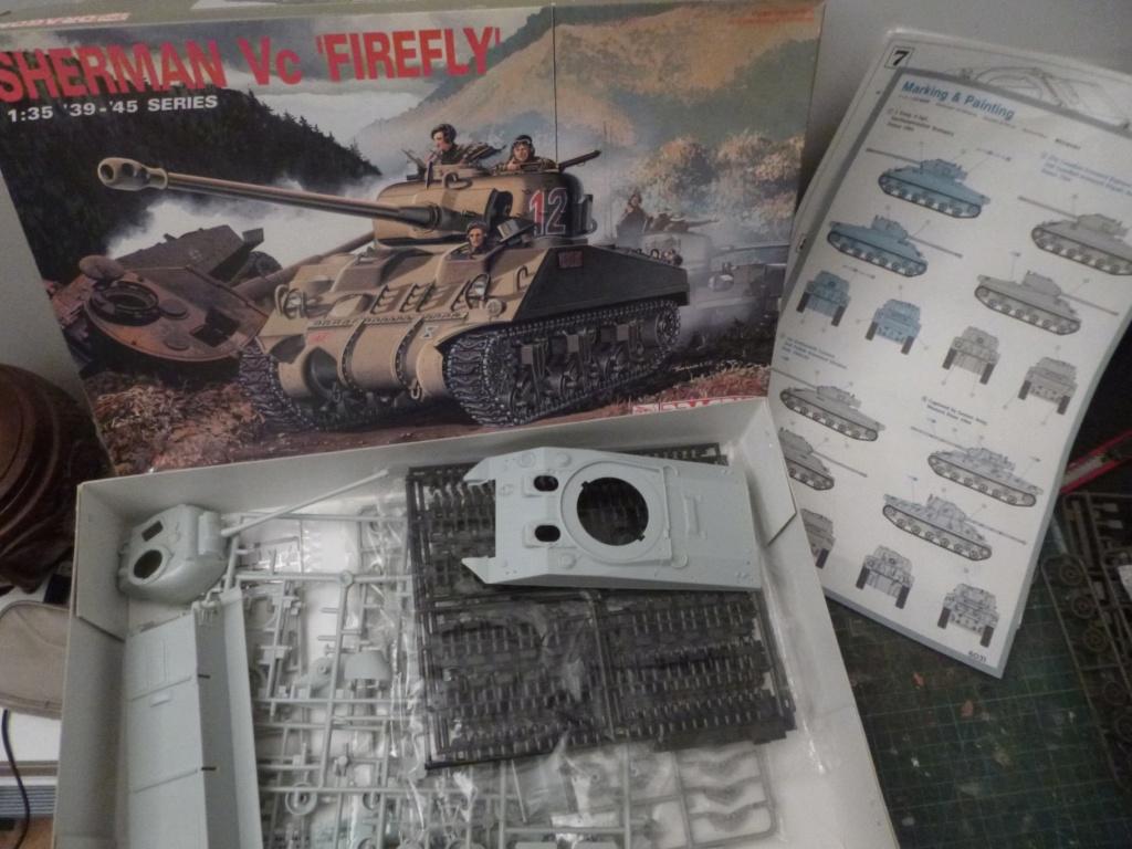 Sherman Firefly Dragon 1/35 P1050511