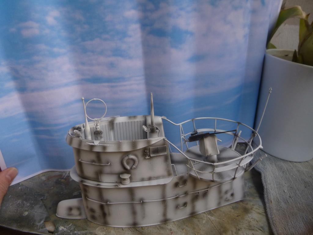 """U-Boot allemand U-69 et son équipage - Scale 75 série """"War front"""" - 1/35 - Résine P1050653"""