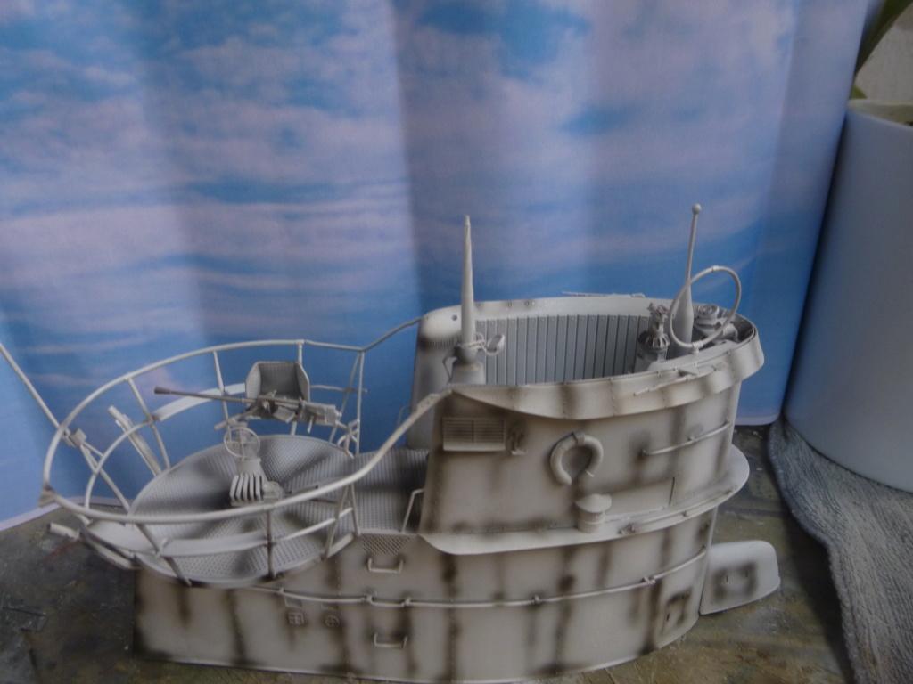 """U-Boot allemand U-69 et son équipage - Scale 75 série """"War front"""" - 1/35 - Résine P1050654"""