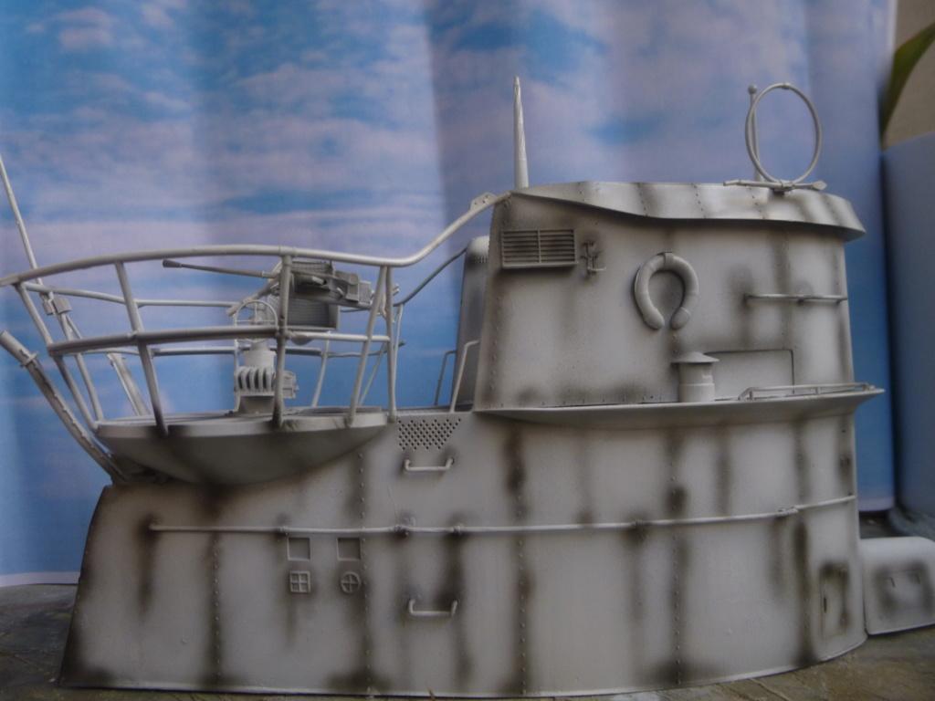 """U-Boot allemand U-69 et son équipage - Scale 75 série """"War front"""" - 1/35 - Résine P1050655"""