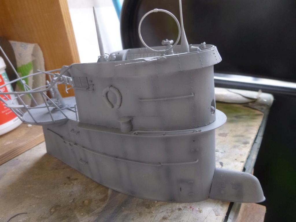 """U-Boot allemand U-69 et son équipage - Scale 75 série """"War front"""" - 1/35 - Résine P1050812"""