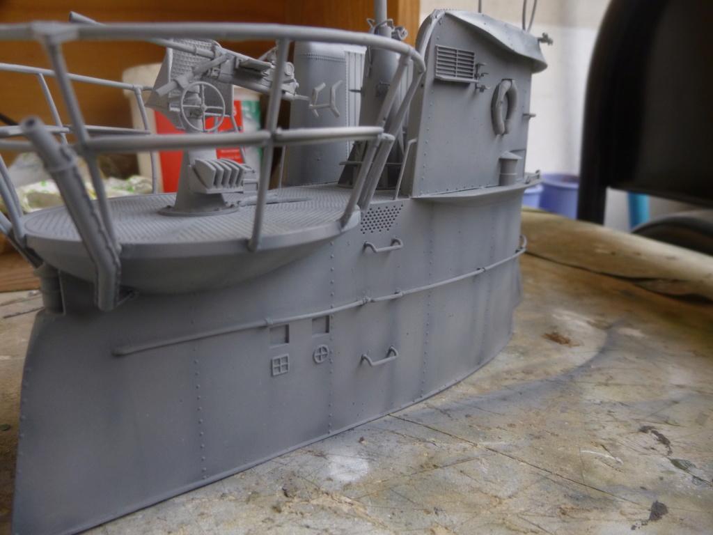 """U-Boot allemand U-69 et son équipage - Scale 75 série """"War front"""" - 1/35 - Résine P1050815"""