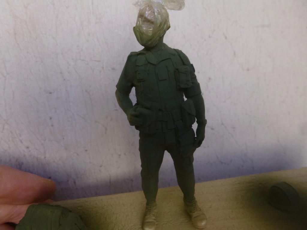 Soldat français -Beyrouth 1982- Atelier Maket 75mm P1050817