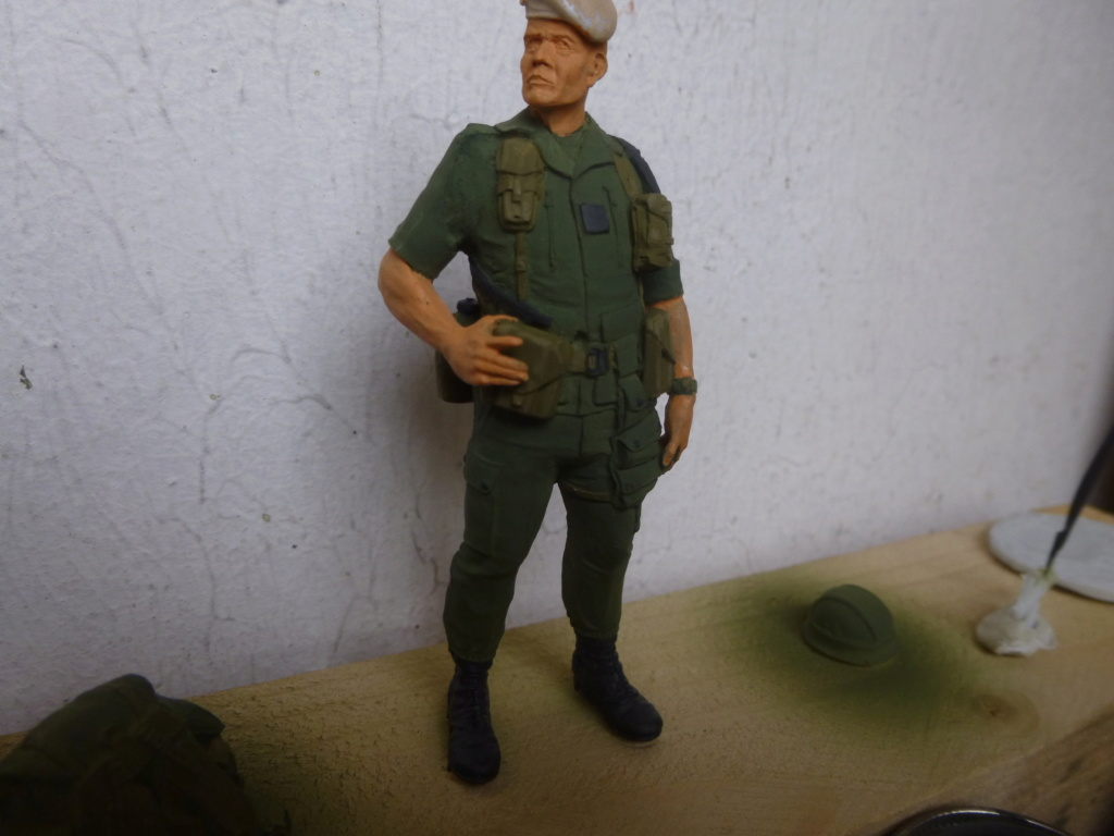 Soldat français -Beyrouth 1982- Atelier Maket 75mm P1050818