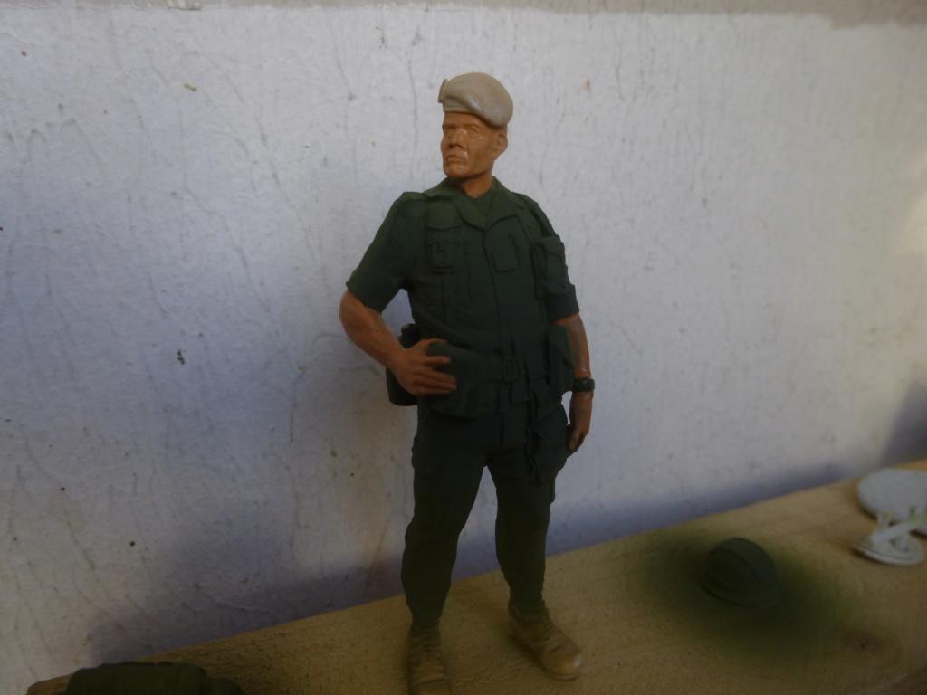 Soldat français -Beyrouth 1982- Atelier Maket 75mm P1050820