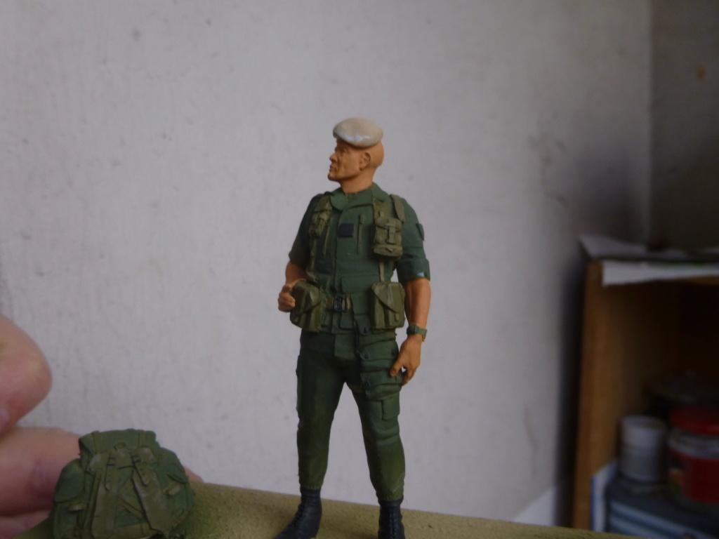 Soldat français -Beyrouth 1982- Atelier Maket 75mm P1050823