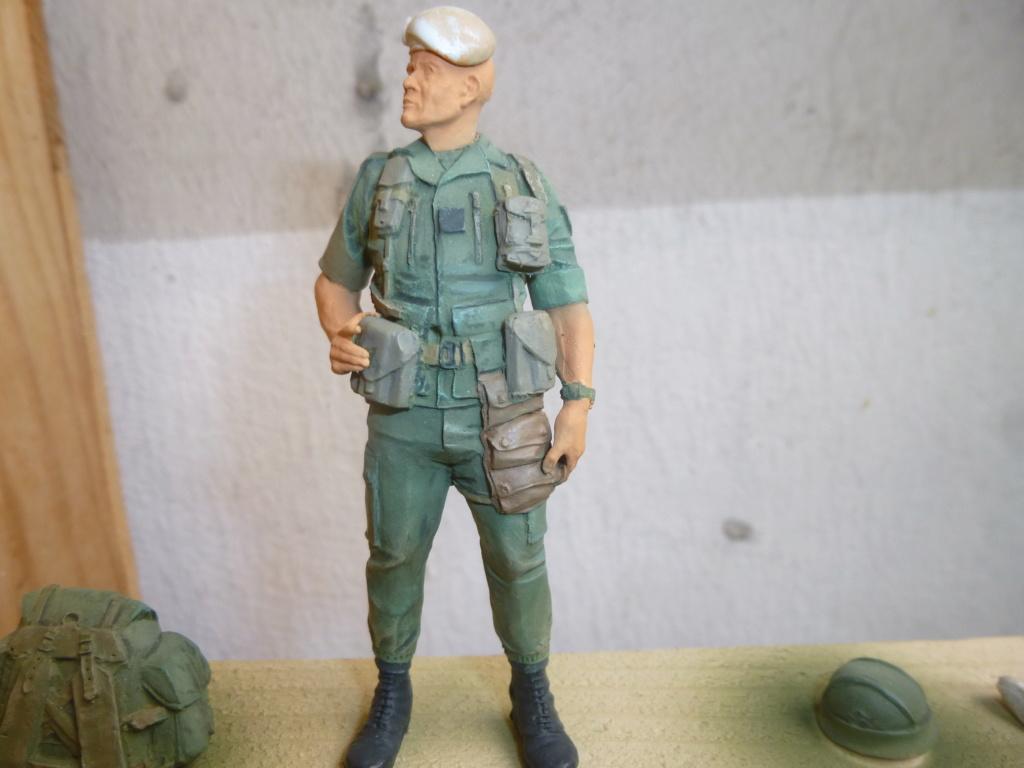 Soldat français -Beyrouth 1982- Atelier Maket 75mm P1050828