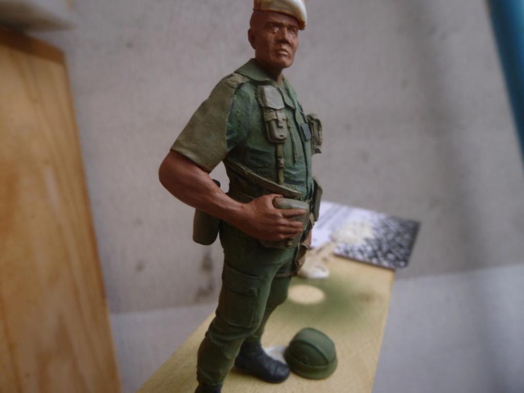 Soldat français -Beyrouth 1982- Atelier Maket 75mm P1050843