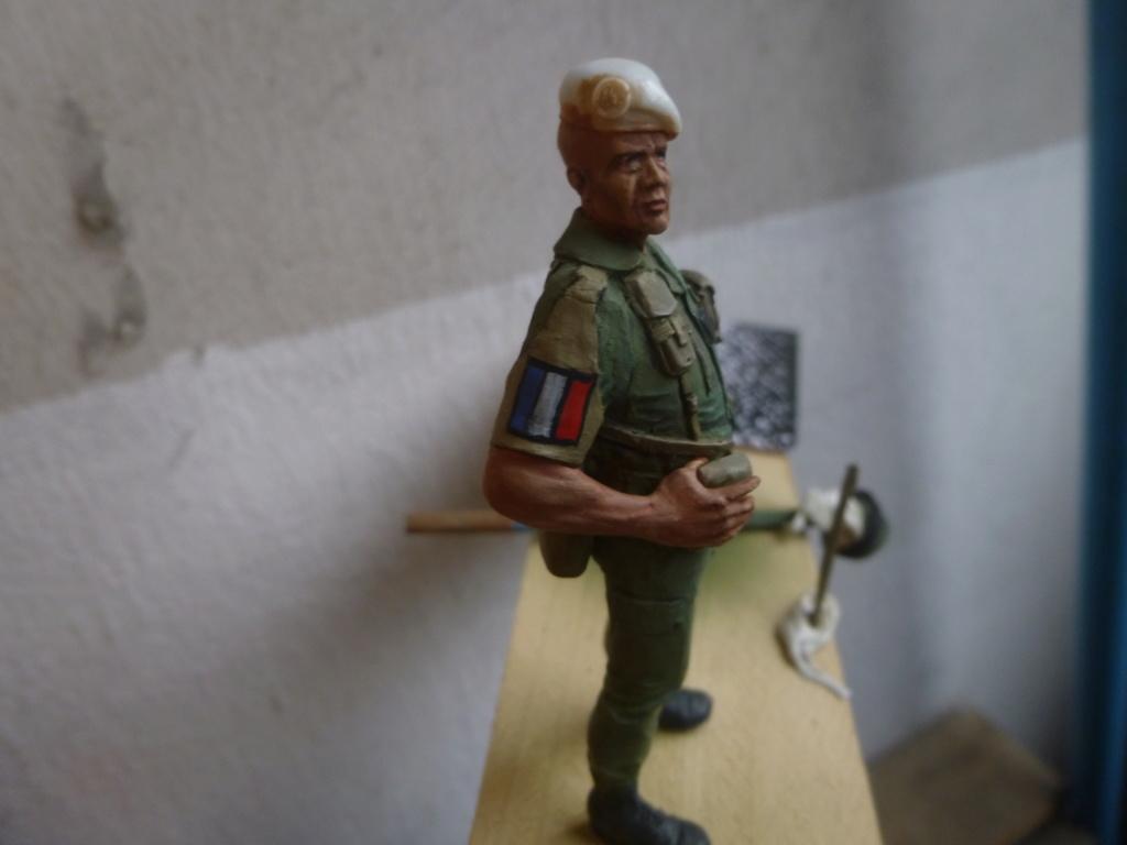 Soldat français -Beyrouth 1982- Atelier Maket 75mm P1050844
