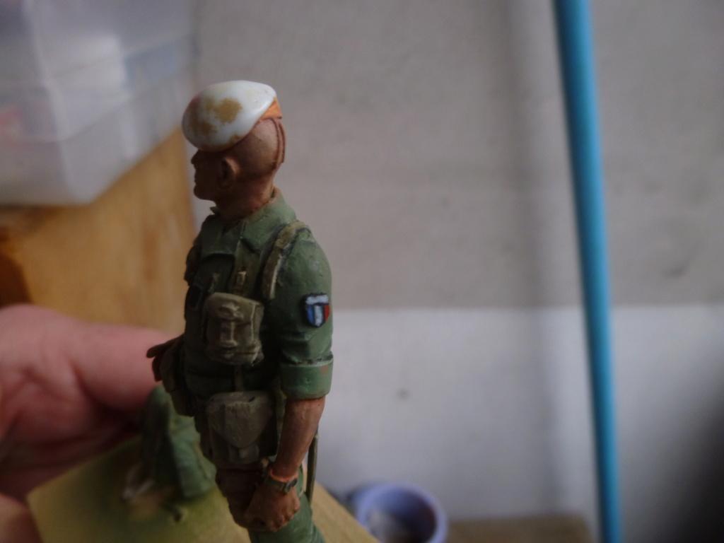 Soldat français -Beyrouth 1982- Atelier Maket 75mm P1050845
