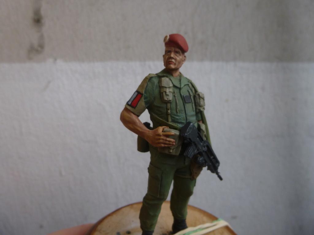 Soldat français -Beyrouth 1982- Atelier Maket 75mm P1050847