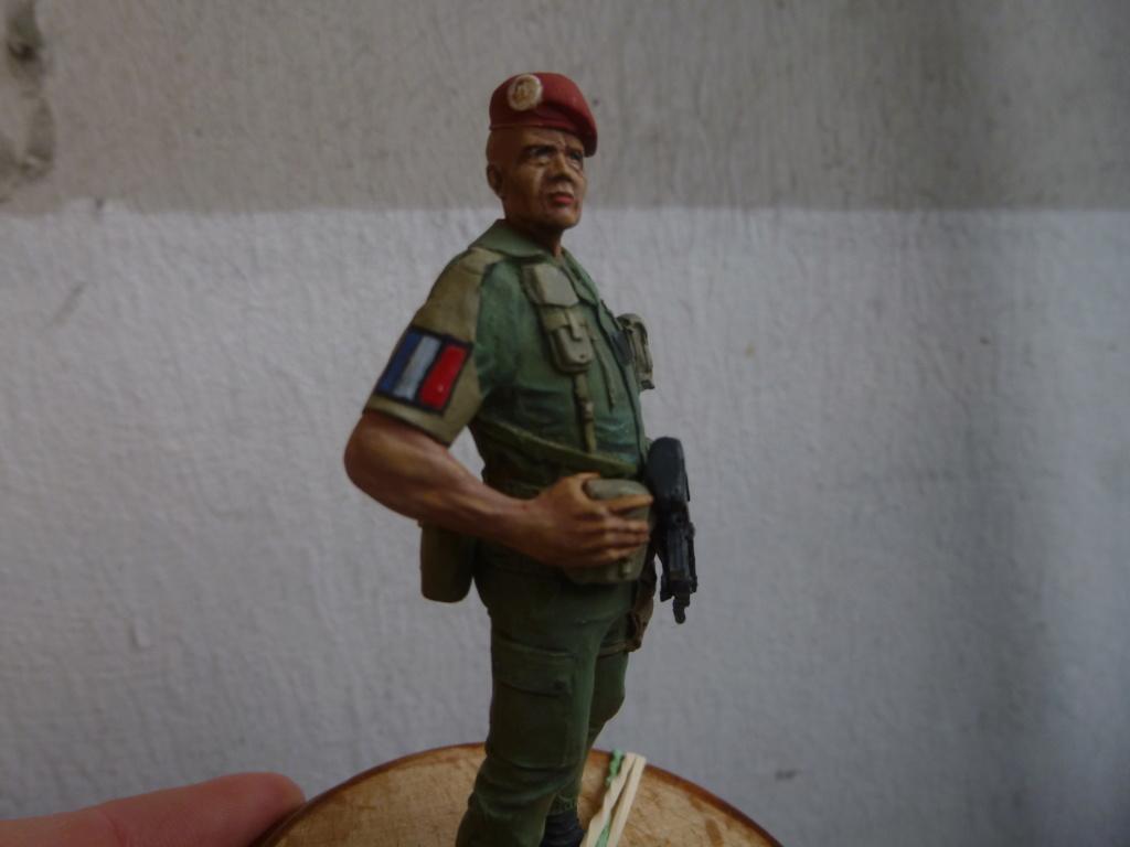 Soldat français -Beyrouth 1982- Atelier Maket 75mm P1050848