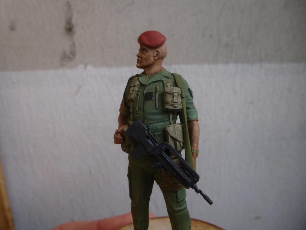 Soldat français -Beyrouth 1982- Atelier Maket 75mm P1050849