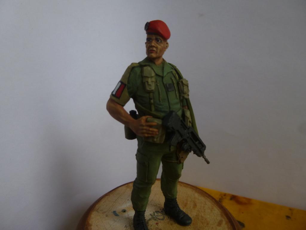 Soldat français -Beyrouth 1982- Atelier Maket 75mm P1050866