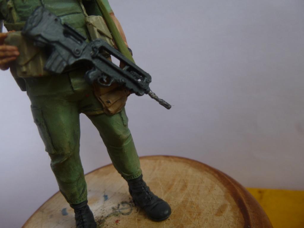 Soldat français -Beyrouth 1982- Atelier Maket 75mm P1050867