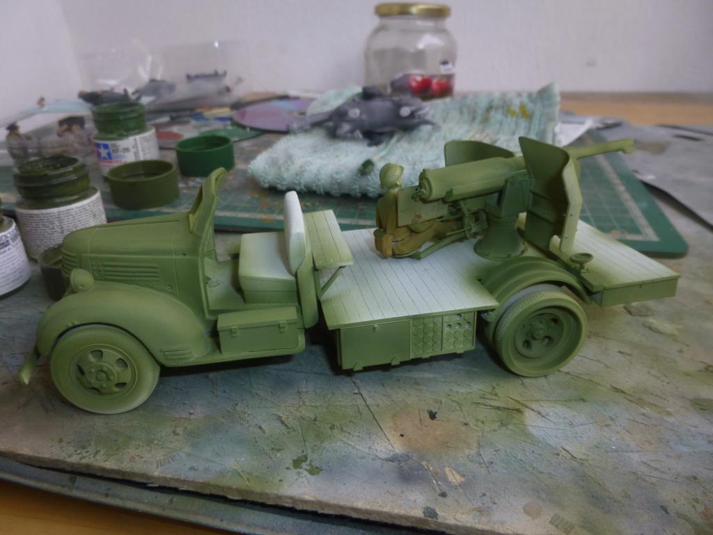 Groupe Spécial d'Artillerie-FFL-Tunisie 1942- camion Dodge canon 75MM -Azimut Productions P1060641