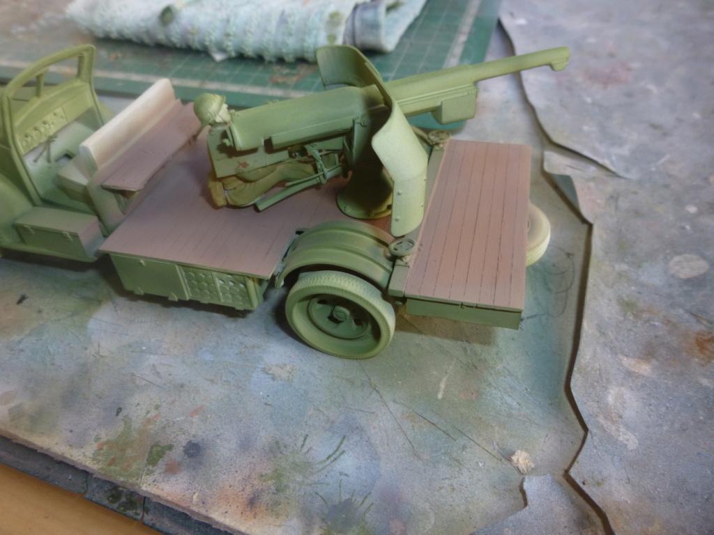 Groupe Spécial d'Artillerie-FFL-Tunisie 1942- camion Dodge canon 75MM -Azimut Productions P1060646