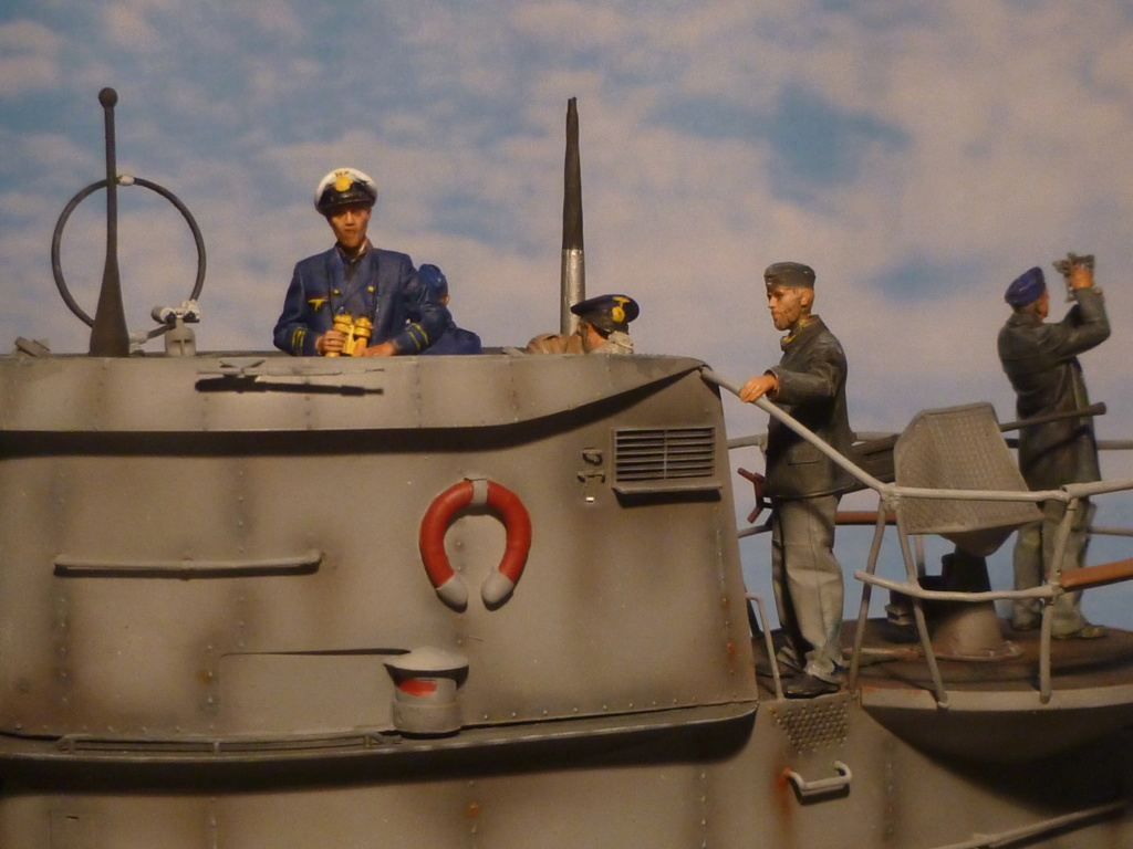 """U-Boot allemand U-69 et son équipage - Scale 75 série """"War front"""" - 1/35 - Résine - Page 4 P1060710"""