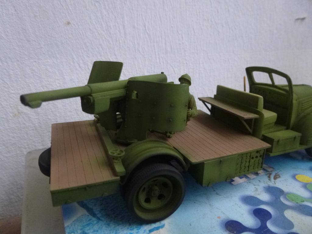 Groupe Spécial d'Artillerie-FFL-Tunisie 1942- camion Dodge canon 75MM -Azimut Productions P1060730