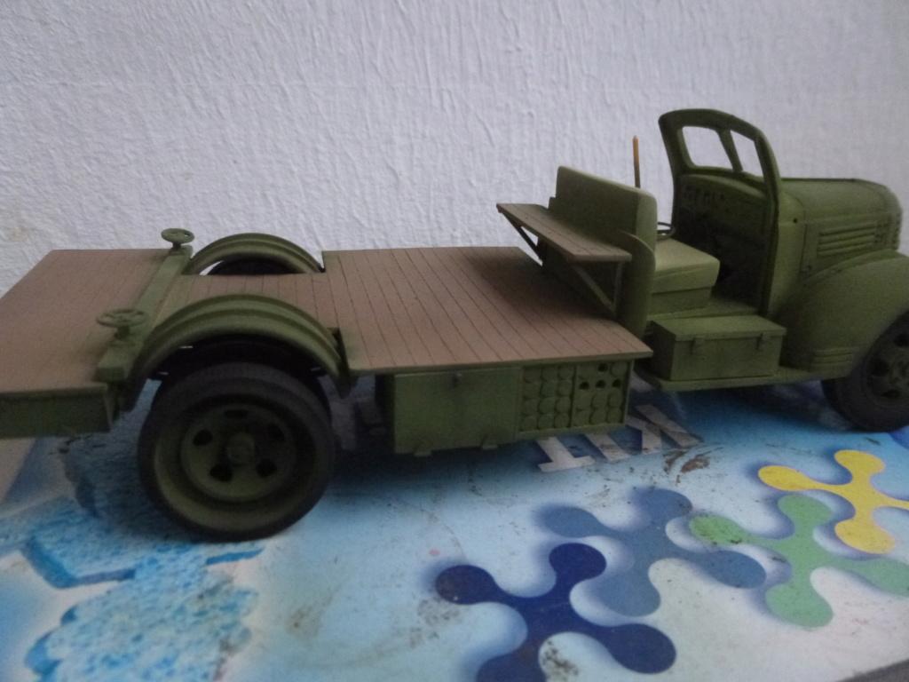 Groupe Spécial d'Artillerie-FFL-Tunisie 1942- camion Dodge canon 75MM -Azimut Productions P1060731