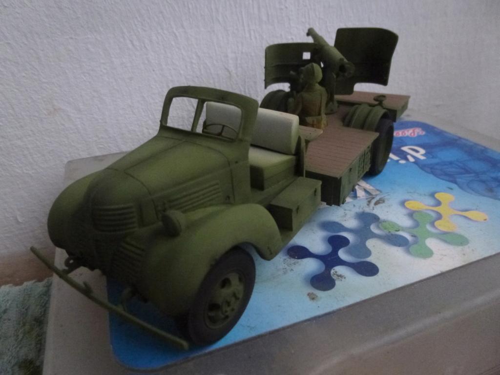 Groupe Spécial d'Artillerie-FFL-Tunisie 1942- camion Dodge canon 75MM -Azimut Productions P1060732