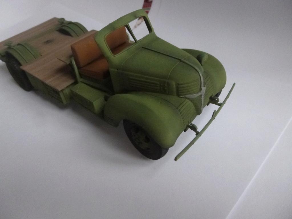 Groupe Spécial d'Artillerie-FFL-Tunisie 1942- camion Dodge canon 75MM -Azimut Productions P1060737