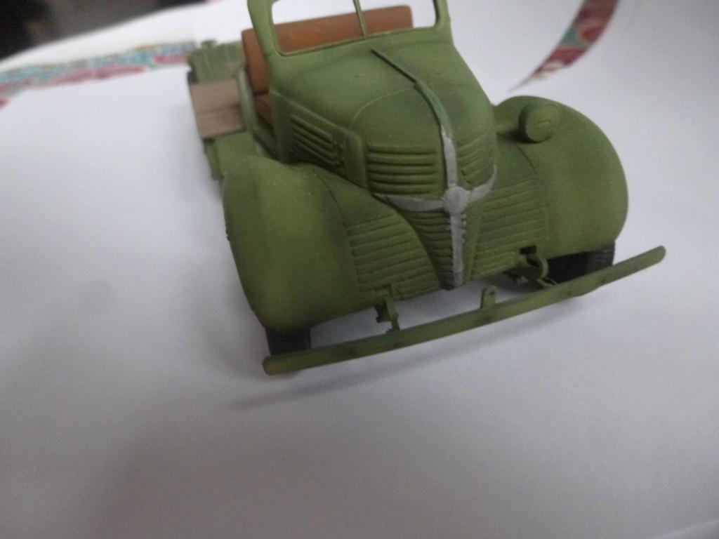 Groupe Spécial d'Artillerie-FFL-Tunisie 1942- camion Dodge canon 75MM -Azimut Productions P1060738