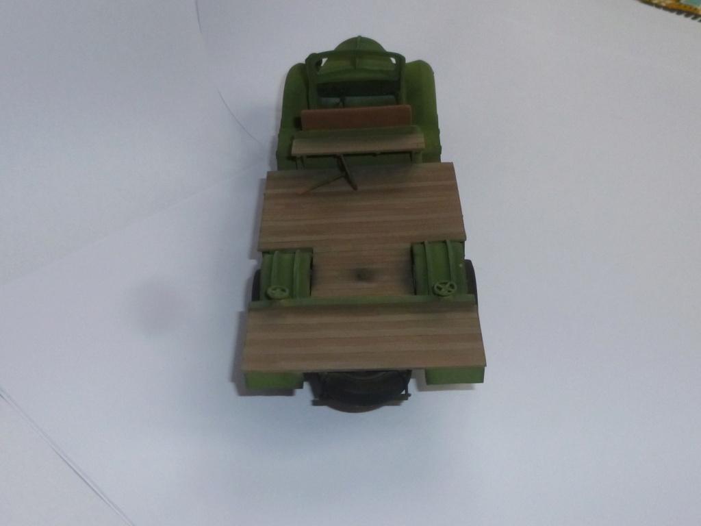 Groupe Spécial d'Artillerie-FFL-Tunisie 1942- camion Dodge canon 75MM -Azimut Productions P1060739