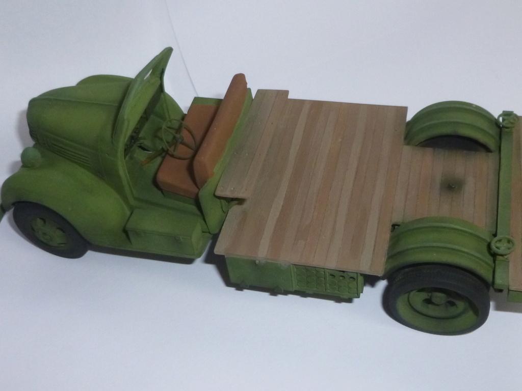 Groupe Spécial d'Artillerie-FFL-Tunisie 1942- camion Dodge canon 75MM -Azimut Productions P1060740
