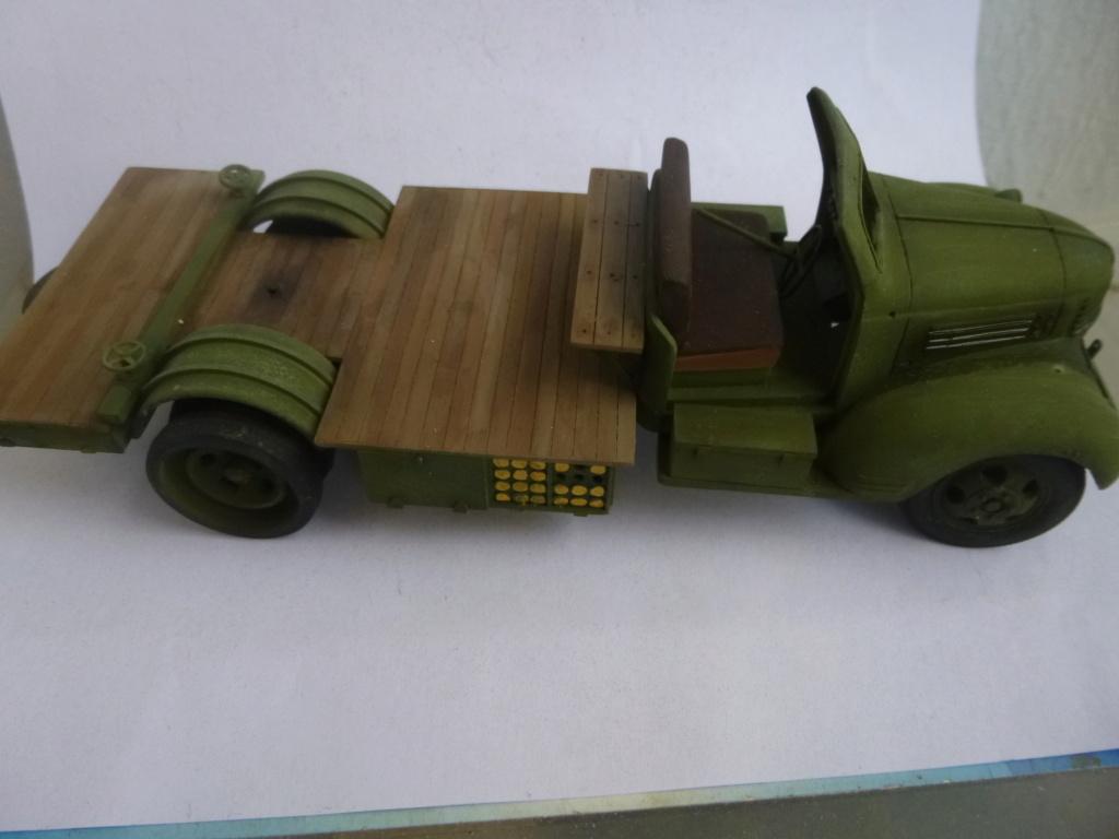 Groupe Spécial d'Artillerie-FFL-Tunisie 1942- camion Dodge canon 75MM -Azimut Productions P1060811
