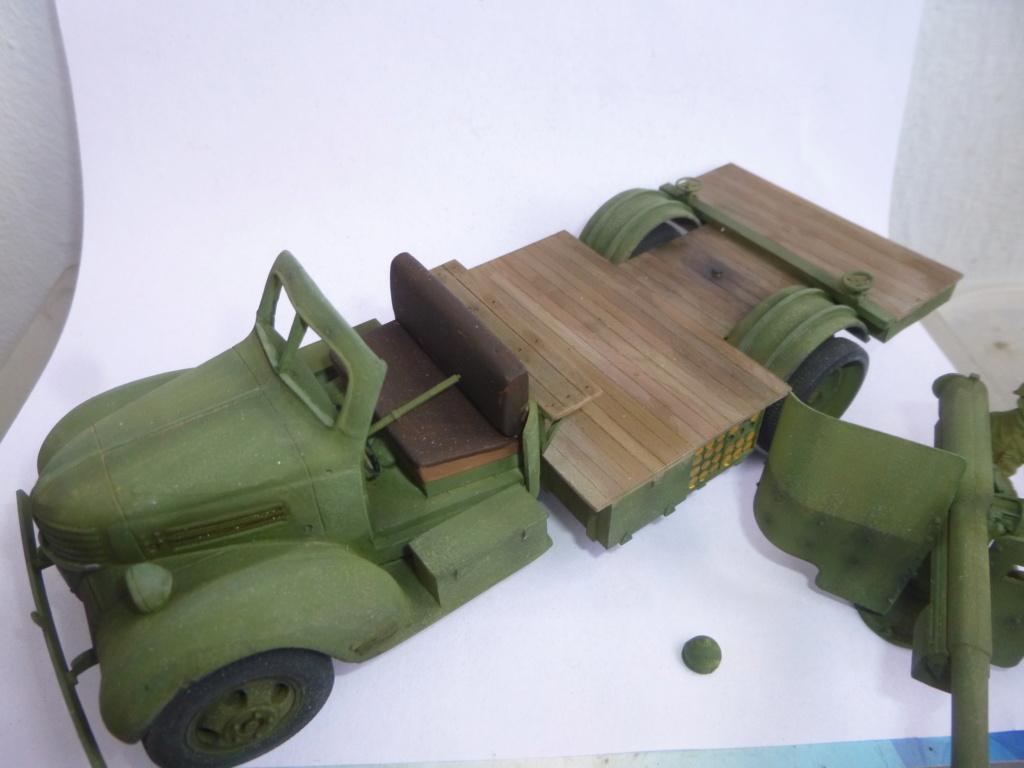 Groupe Spécial d'Artillerie-FFL-Tunisie 1942- camion Dodge canon 75MM -Azimut Productions P1060812