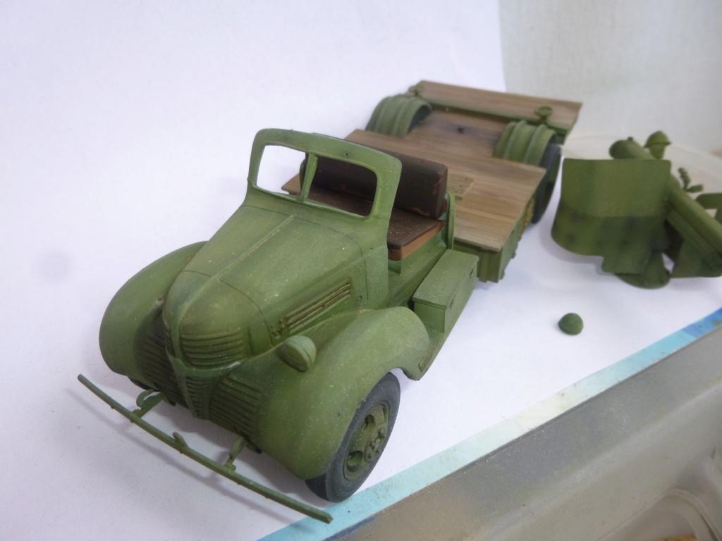 Groupe Spécial d'Artillerie-FFL-Tunisie 1942- camion Dodge canon 75MM -Azimut Productions P1060814