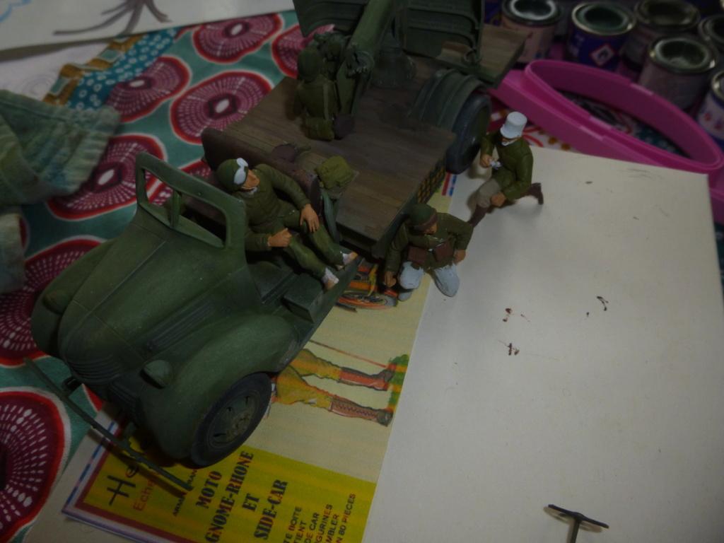 Groupe Spécial d'Artillerie-FFL-Tunisie 1942- camion Dodge canon 75MM -Azimut Productions - Page 3 P1060912