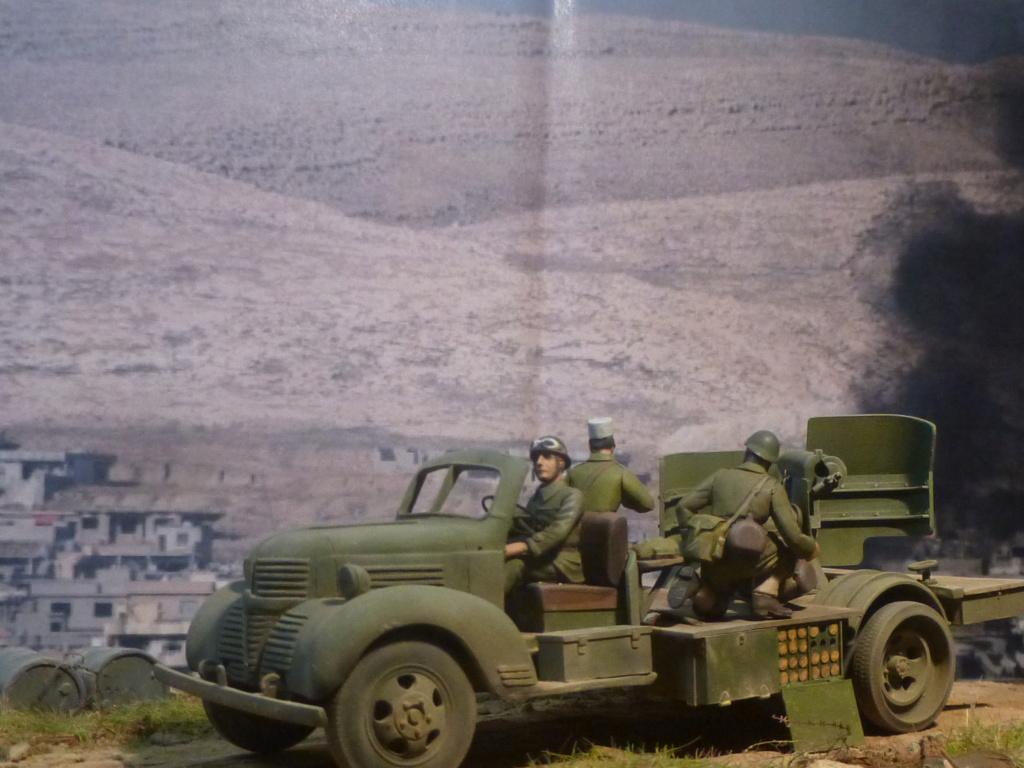 FFL GSA  camion Dodge -Tunisie 1942 - 1/35 Azimut Production P1070126