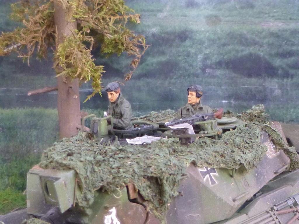 REFORGER Allemagne année 70 - 1:35 -Italeri Leopard 1A4-Valkyrie miniatures P1070510