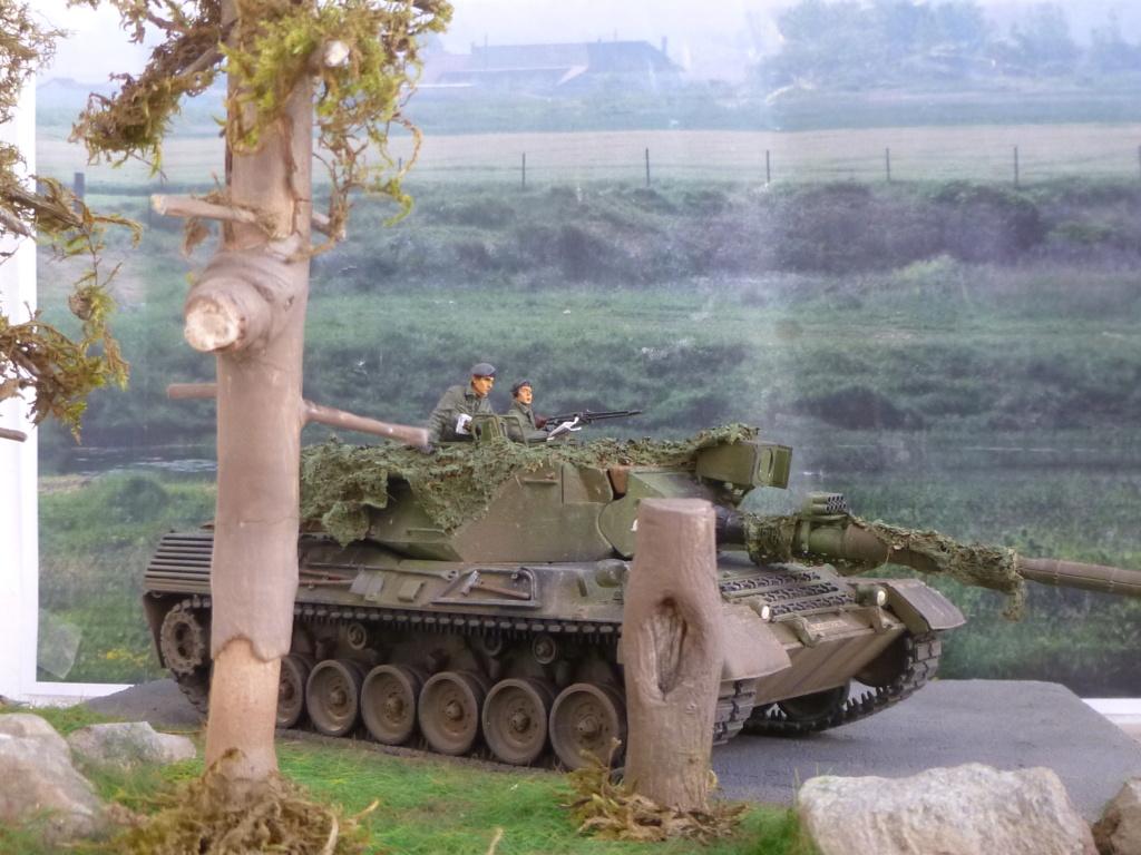 REFORGER Allemagne année 70 - 1:35 -Italeri Leopard 1A4-Valkyrie miniatures P1070511