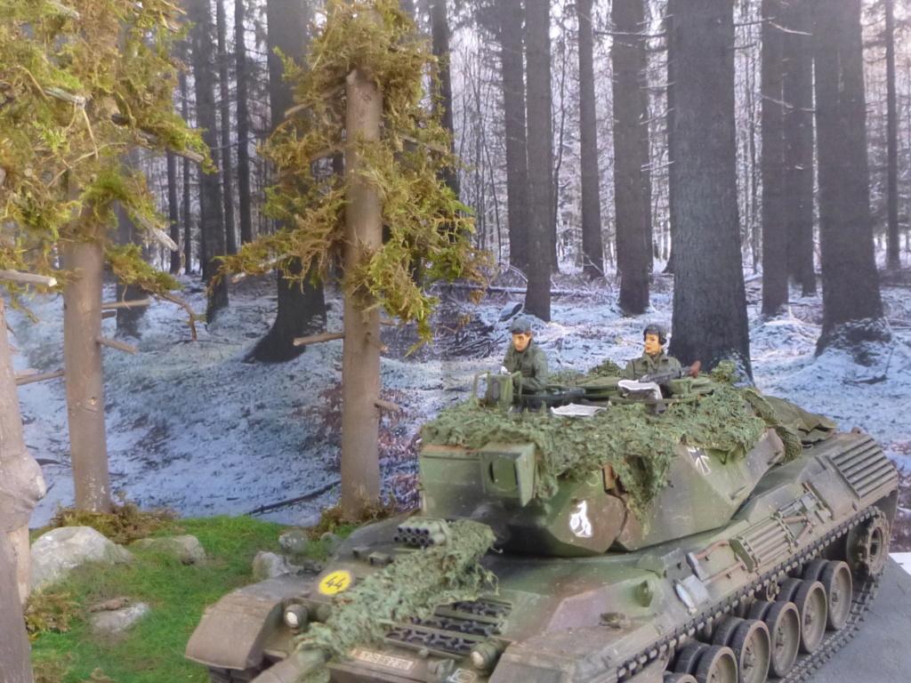 REFORGER Allemagne année 70 - 1:35 -Italeri Leopard 1A4-Valkyrie miniatures P1070512