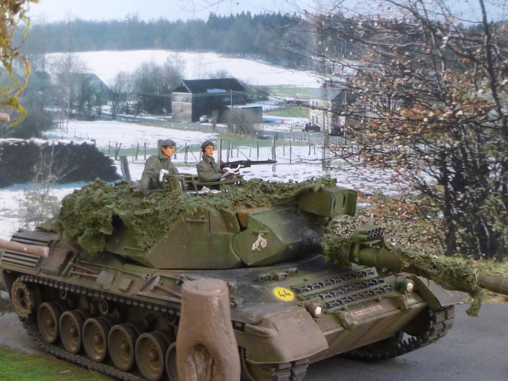 REFORGER Allemagne année 70 - 1:35 -Italeri Leopard 1A4-Valkyrie miniatures P1070513