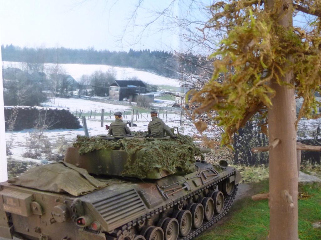 REFORGER Allemagne année 70 - 1:35 -Italeri Leopard 1A4-Valkyrie miniatures P1070516