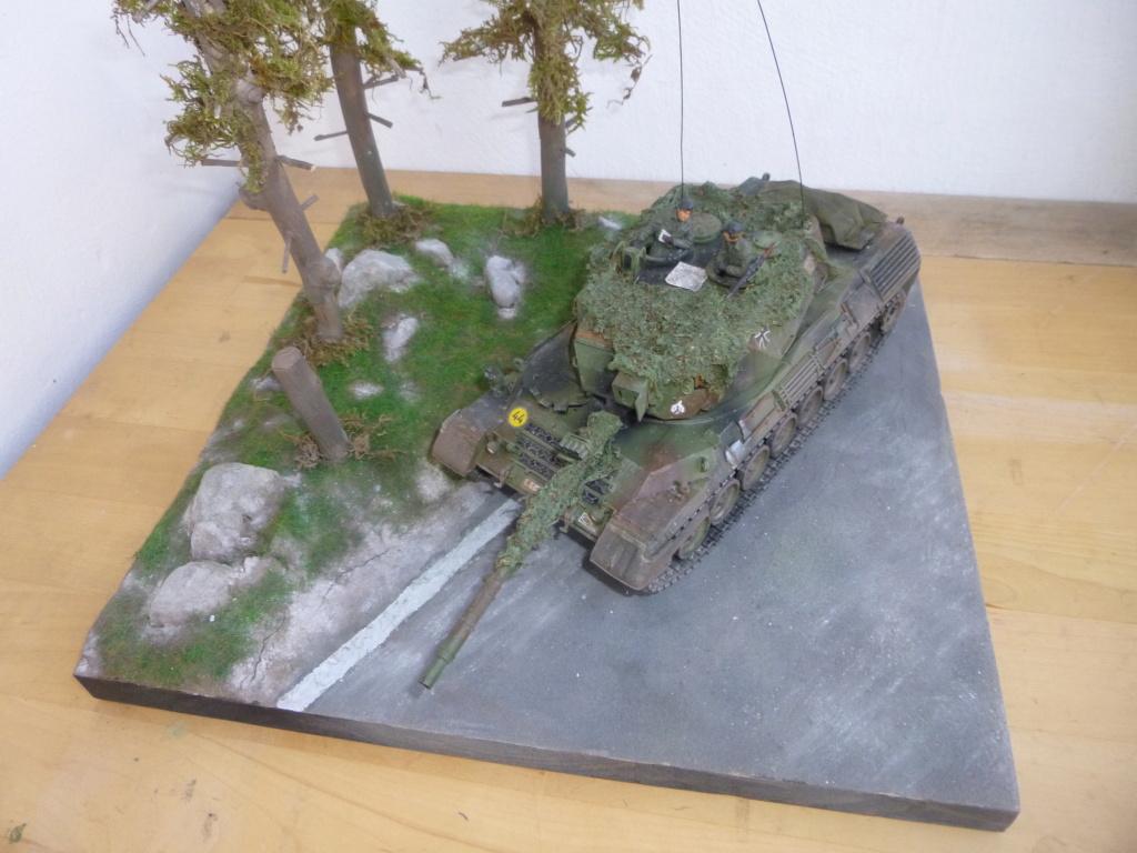 REFORGER Allemagne année 70 - 1:35 -Italeri Leopard 1A4-Valkyrie miniatures P1070522